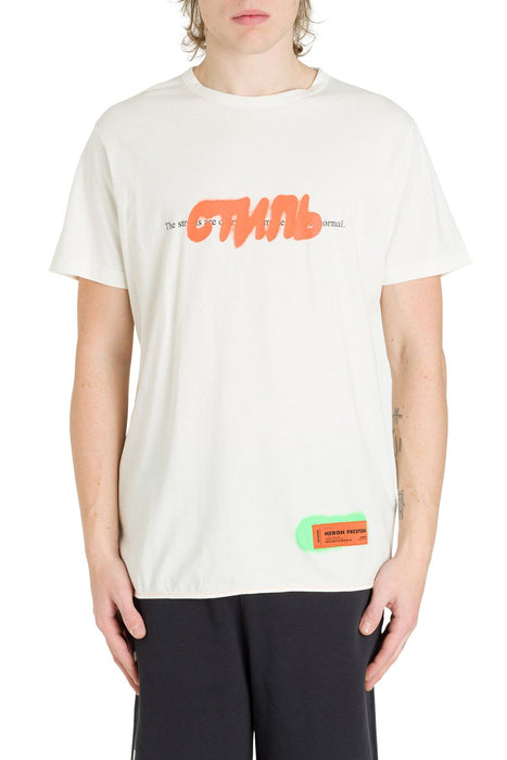 HERON PRESTON MEN'S GRAFFITI LOGO PRINT TEE