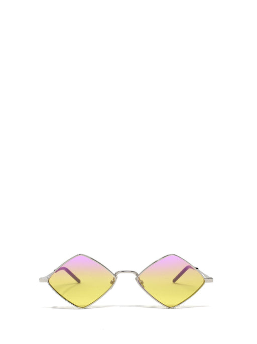 SAINT LAURENT WOMEN'S NEW WAVE SL302 METAL SUNGLASSES