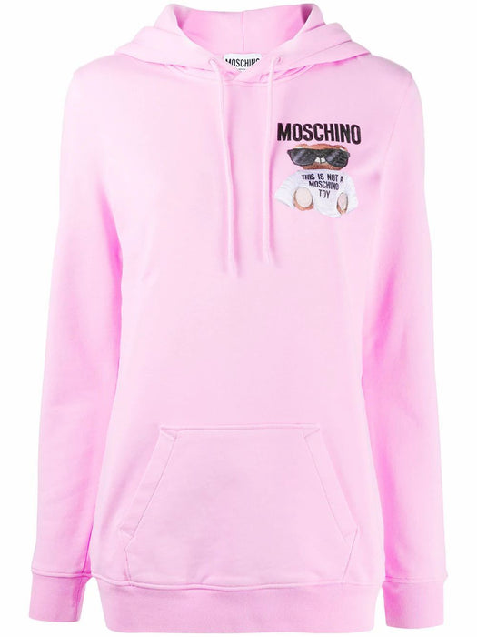 MOSCHINO WOMEN'S TEDDY BEAR PRINT SWEATSHIRT