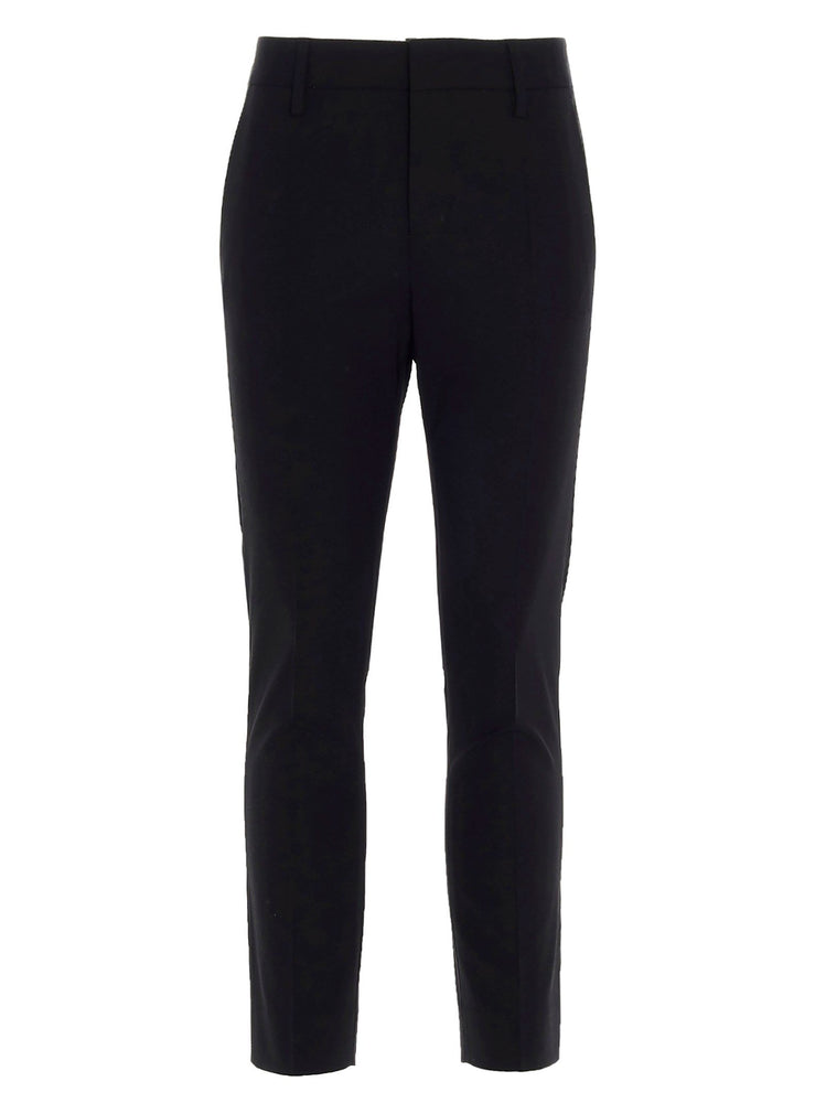 DSQUARED2 WOMEN'S CROPPED TAILORED PANTS