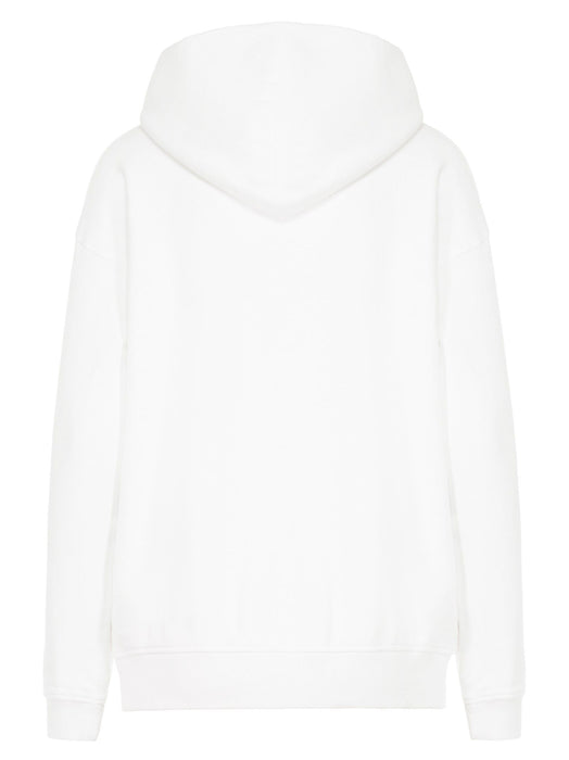 GIVENCHY WOMEN'S EMBROIDERED SIGNATURE LOGO HOODY