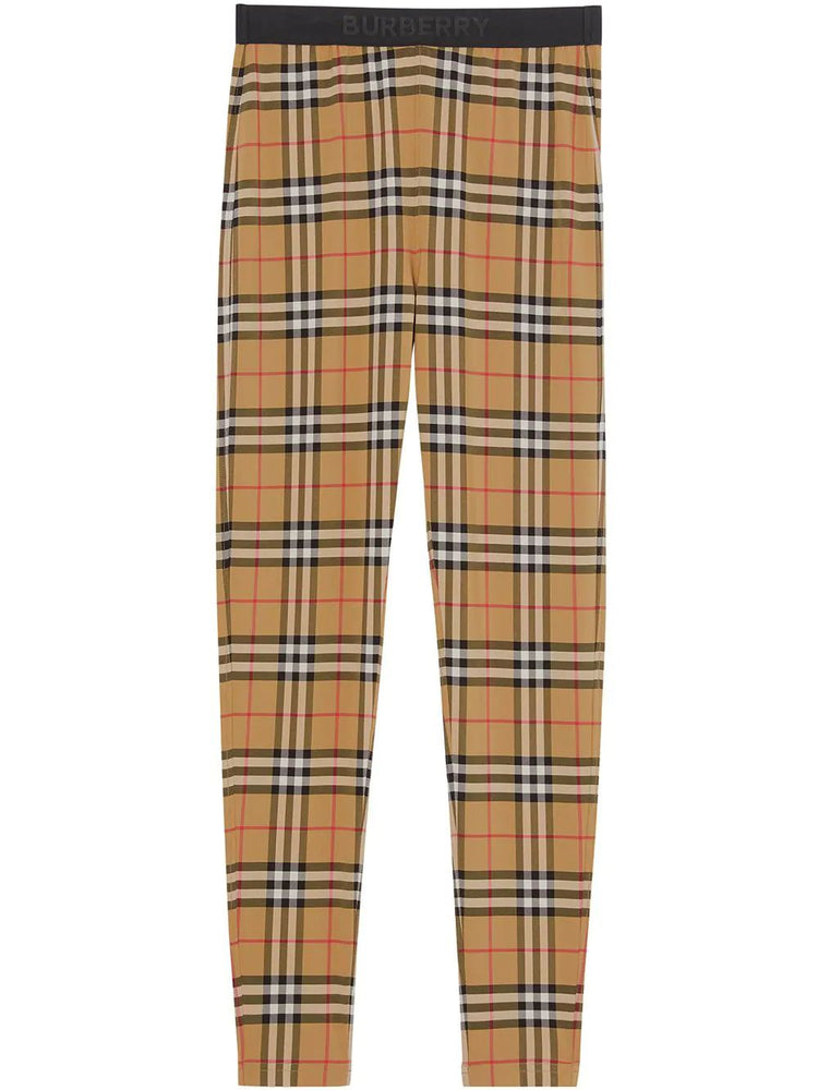 BURBERRY WOMEN'S LEGGINGS - CLASSIC PATTERN