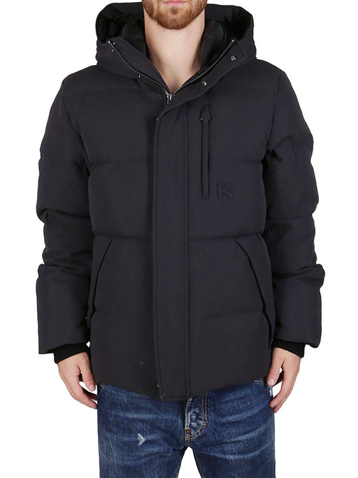 KENZO MEN'S HOODED PUFFER DOWN JACKET