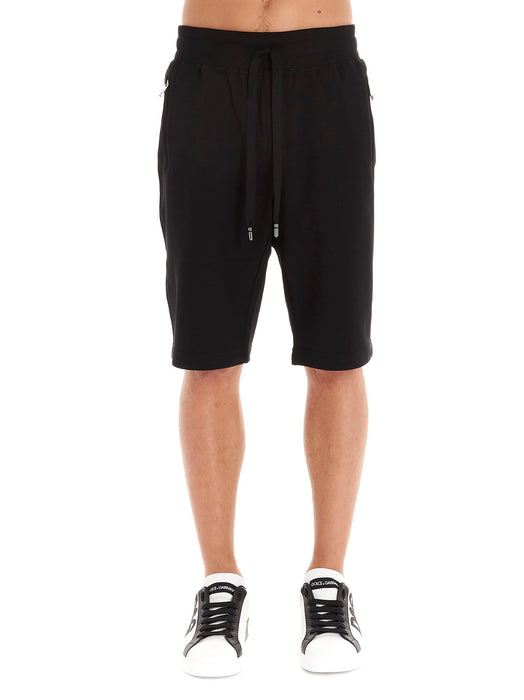 DOLCE & GABBANA MEN'S DRAWSTRING TRACK SHORTS