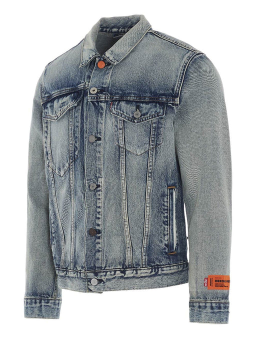 HERON PRESTON x LEVI'S MEN'S JEAN JACKET