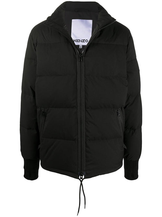KENZO MEN'S TIGER PATCH PUFFER JACKET
