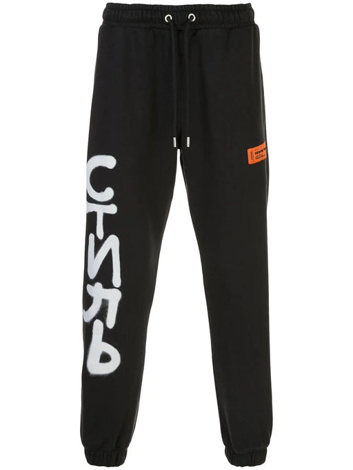 HERON PRESTON MEN'S SPRAY PRINT JOGGERS