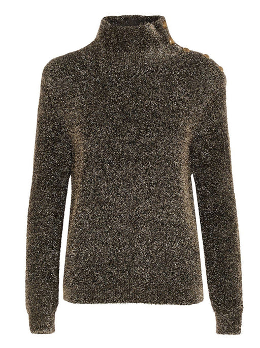 BALMAIN WOMEN'S KNITTED ROLL NECK SWEATER