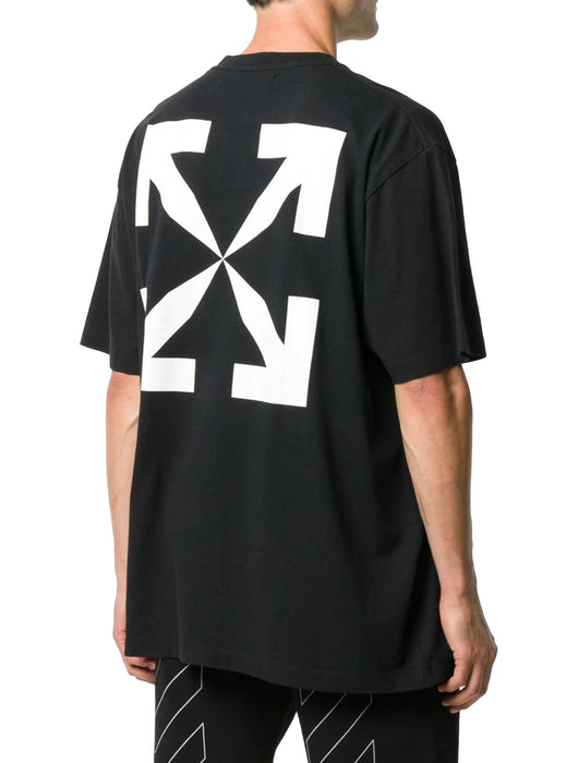 OFF-WHITE MEN'S PASCAL PAINTING PRINT T-SHIRT