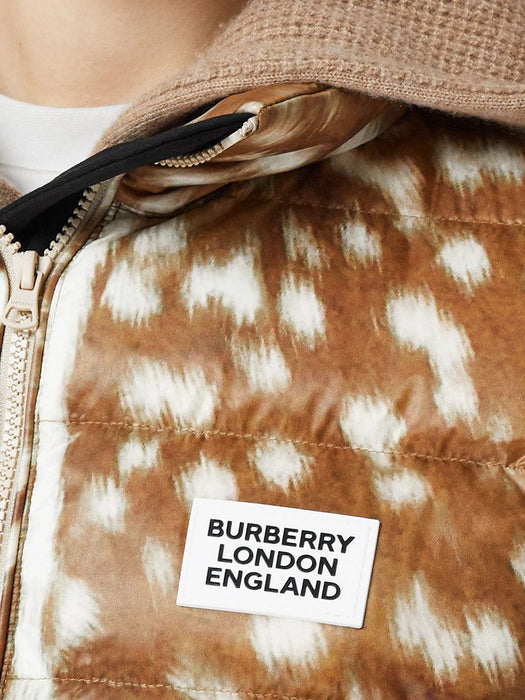 BURBERRY WOMEN'S BLOTCHED DOWN JACKET