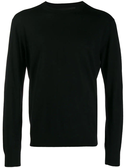 DSQUARED2 MEN'S DISCRETE LOGO PATCH SWEATER