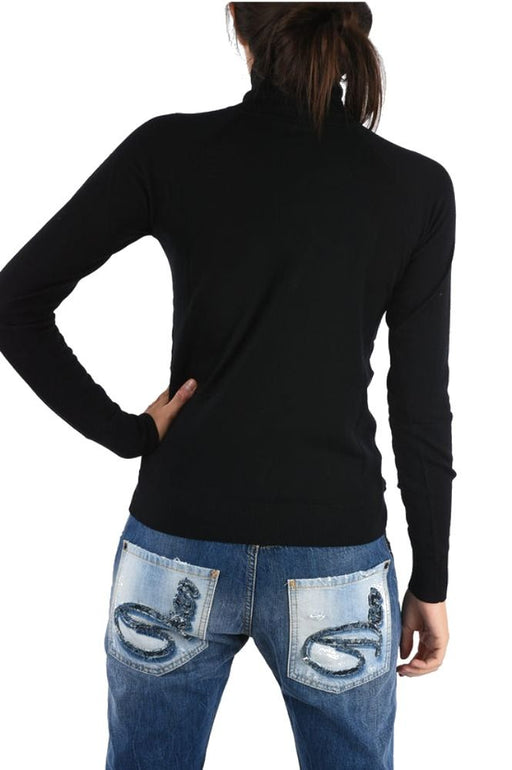 DSQUARED2 WOMEN'S TURTLE NECK  WOOL SWEATER