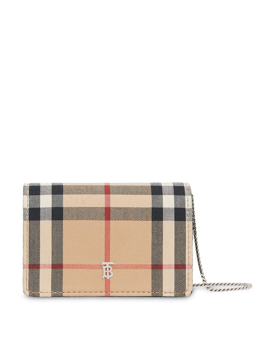 BURBERRY WOMEN'S VINTAGE CHECK WALLET
