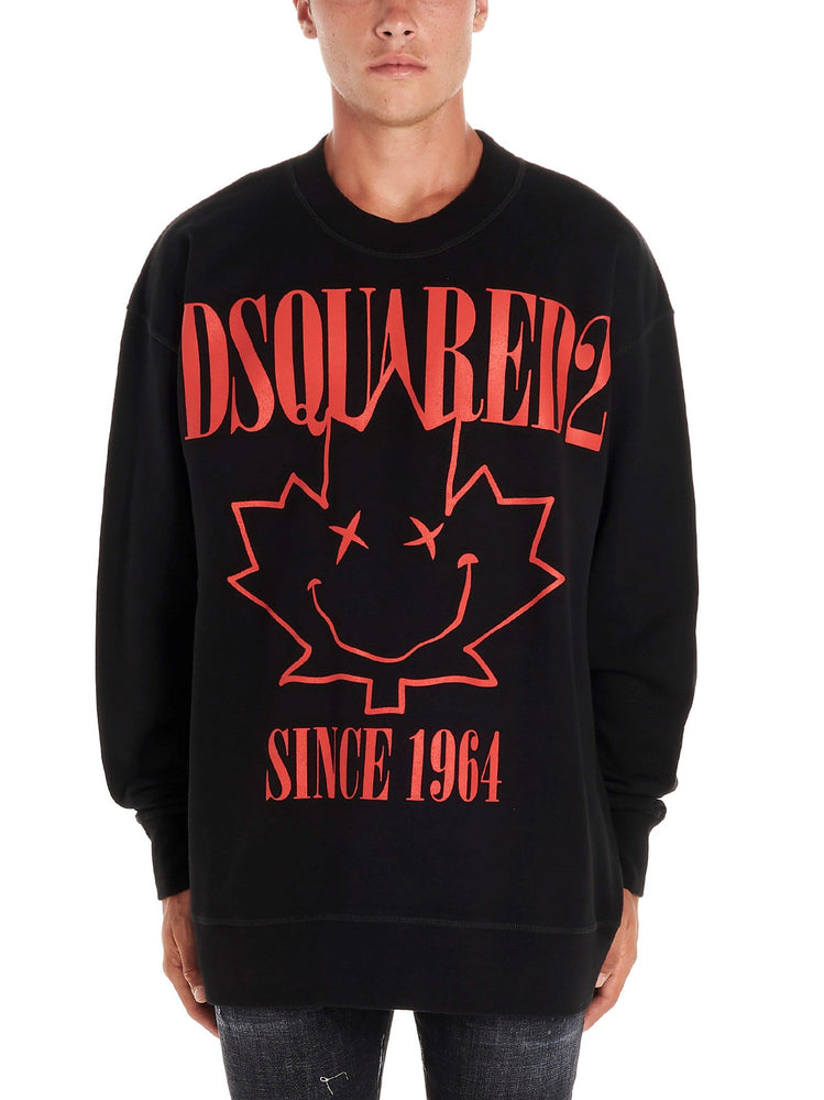 DSQUARED2 MEN'S SMILING LEAF SWEATSHIRT