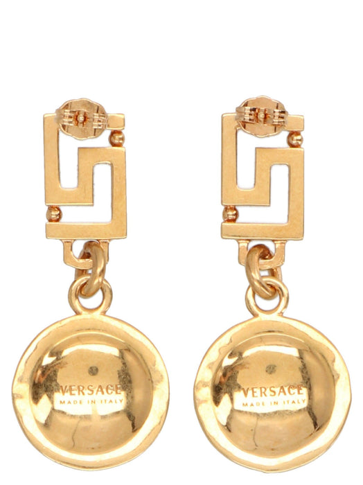 VERSACE WOMEN'S GRECA EARRINGS