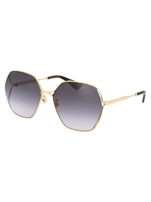 GUCCI WOMEN'S OVERSIZED-FRAME TINTED SUNGLASSES