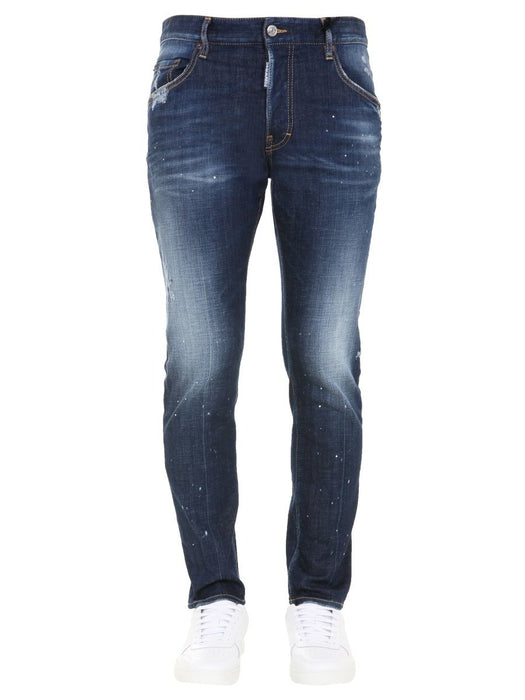 DSQUARED2 MEN'S DISTRESSED SLIM FIT JEANS