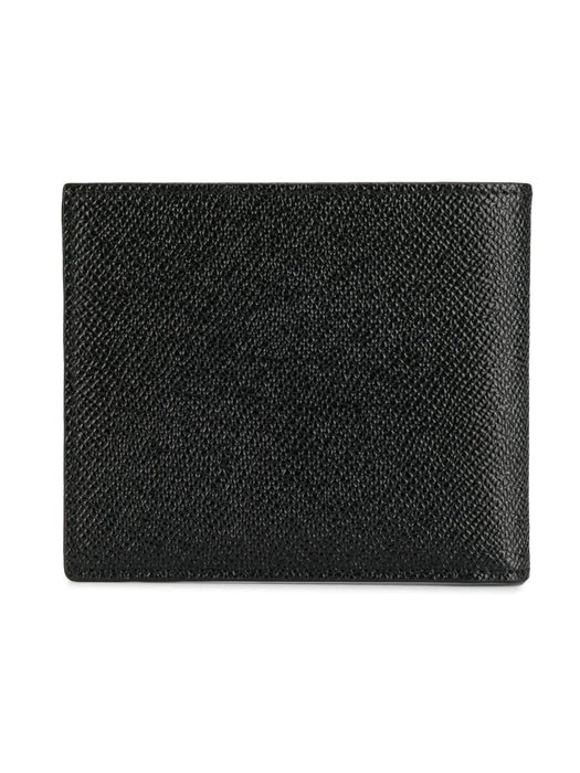 DOLCE E GABBANA  LOGO PLAQUE  LEATHER WALLET