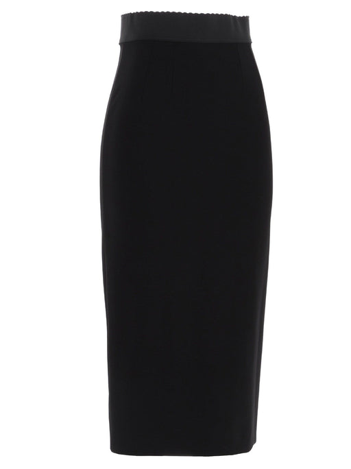 DOLCE & GABBANA WOMEN'S MIDI PENCIL SKIRT