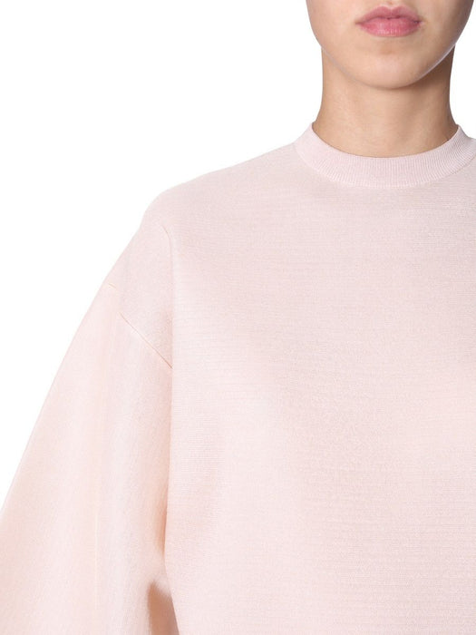 GIVENCHY WOMEN'S WIDE ARM SILK TOP