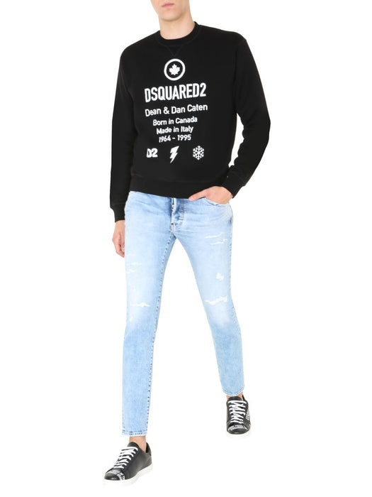 DSQUARED2 MEN'S DEAN & DAN CATEN SWEATSHIRT
