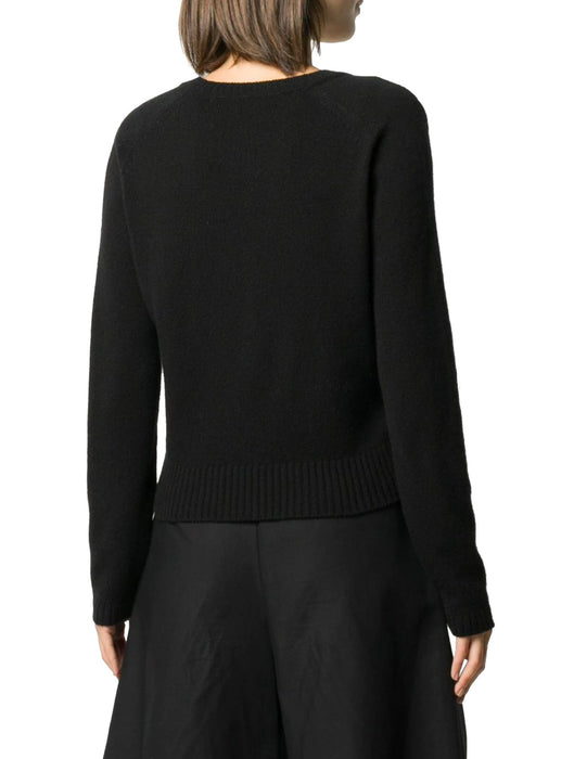 GUCCI WOMEN'S V-NECK CASHMERE SWEATER
