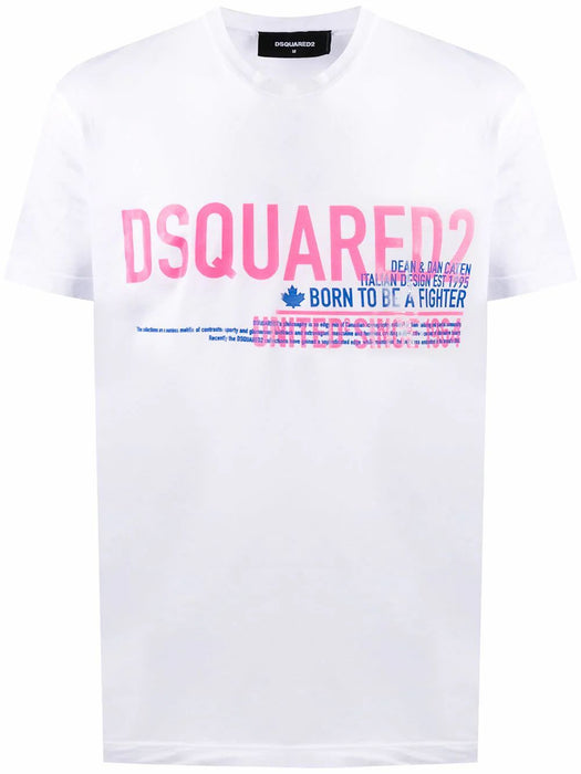 DSQUARED2 MEN'S BORN FIGHTER T-SHIRT