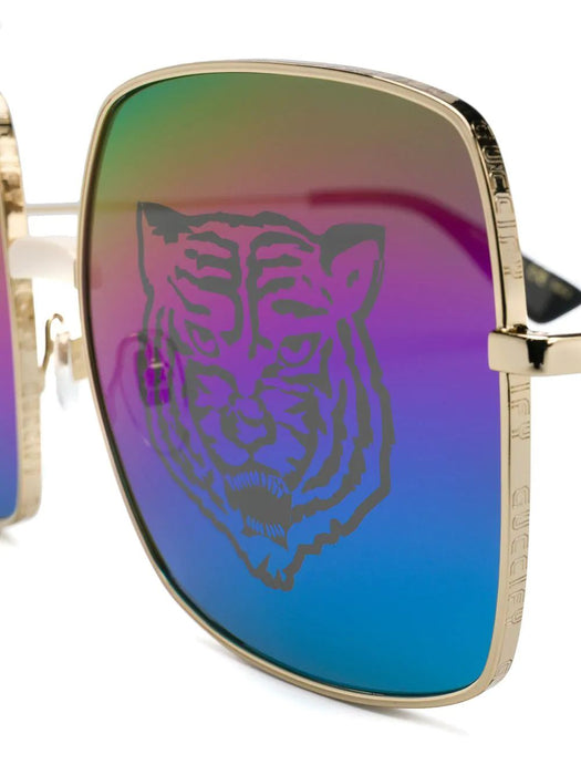 GUCCI WOMEN'S TIGER PRINT SUNGLASSES