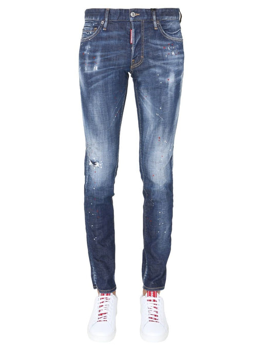 DSQUARED2 MEN'S DISTRESSED RIPPED JEANS