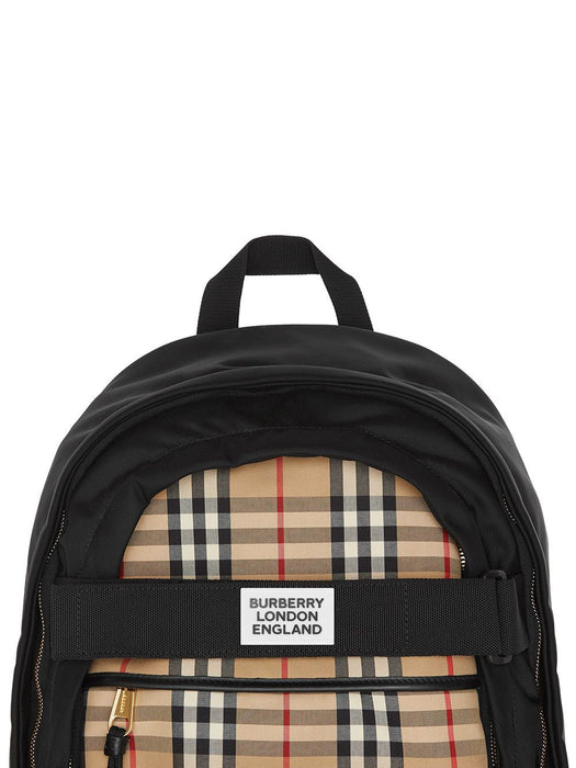 BURBERRY WOMEN'S LARGE VINTAGE CHECK PANEL NEVIS BACKPACK
