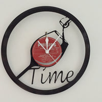 Wine time - clock