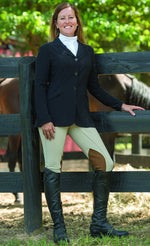 Zephyr II Mesh Hunt Show Coat - Black