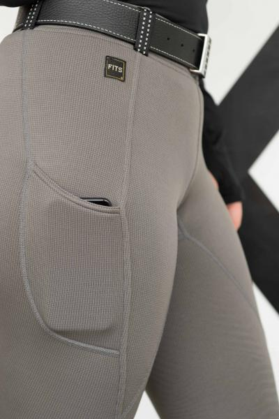 ThermaMAX TechTread Winter Full Seat Breech - Smoke