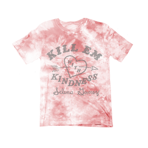 Tie Dye Kill Em With Kindness T-Shirt