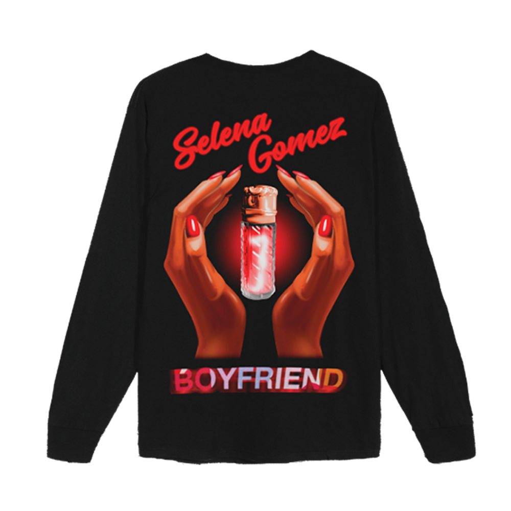 Perfume Bottle Black Long Sleeve