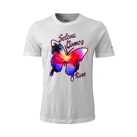 "Selena Gomez ""RARE"" Butterfly Airbrush Inspired T-Shirt + Digital Album"