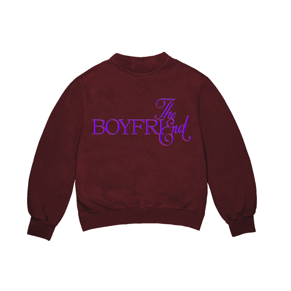 The End Burgundy Crewneck + Deluxe Digital Album