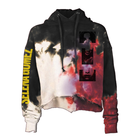 Lose You To Love Me Tie Dye Crop Hoodie + Digital Album