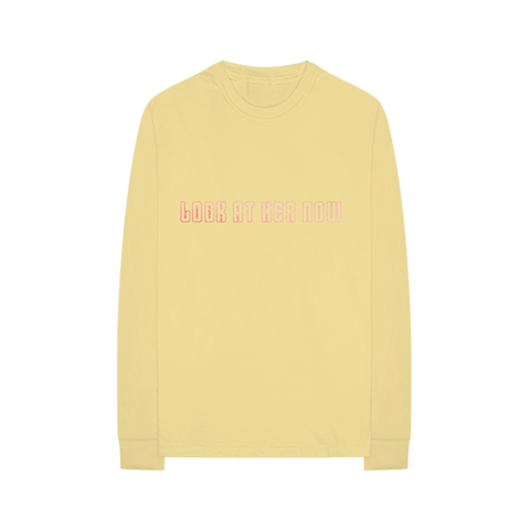 Look At Her Now Yellow Long Sleeve