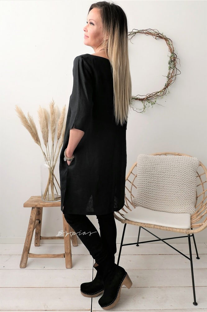 LIGHTHOUSE TUNIC BLACK
