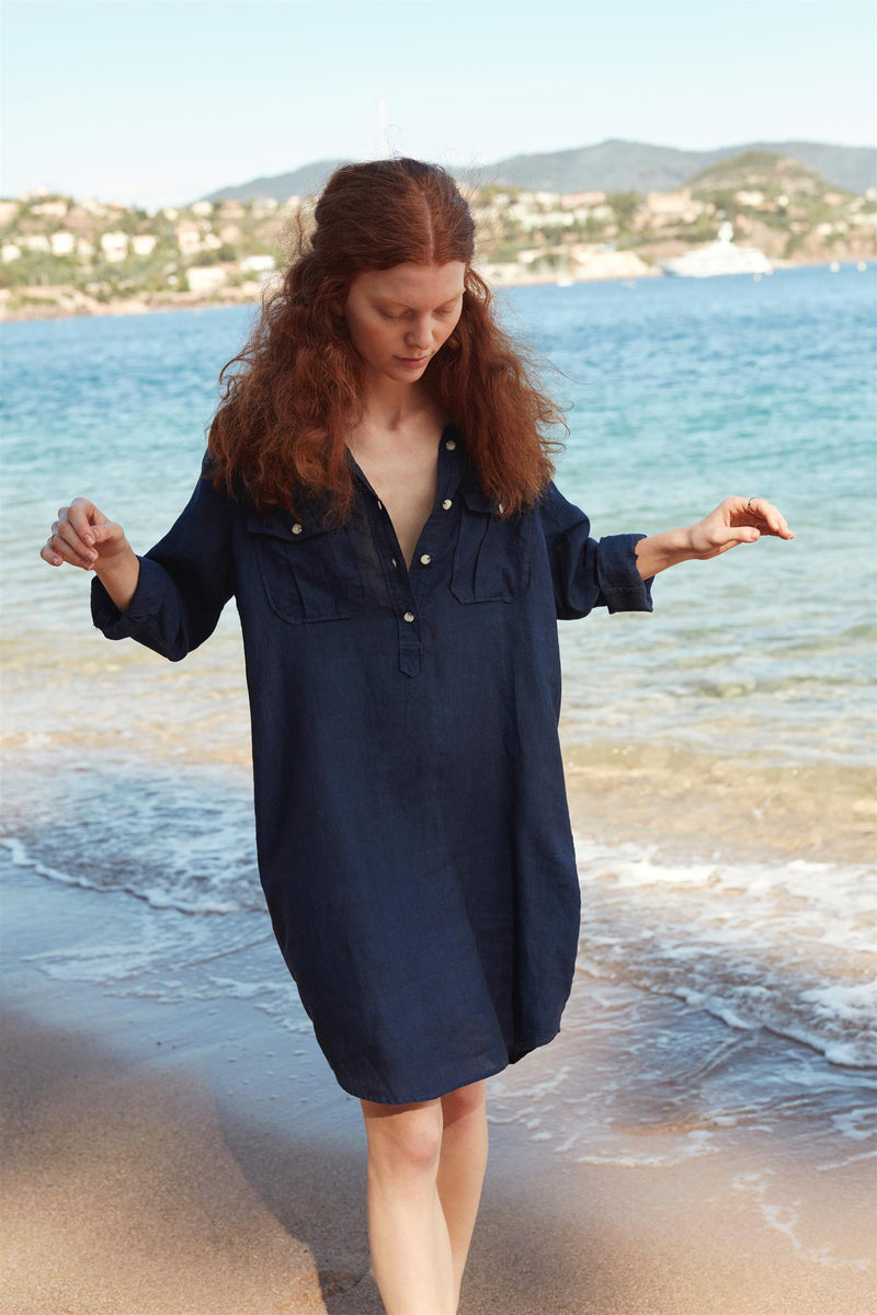 SAVANNA SHIRT DRESS