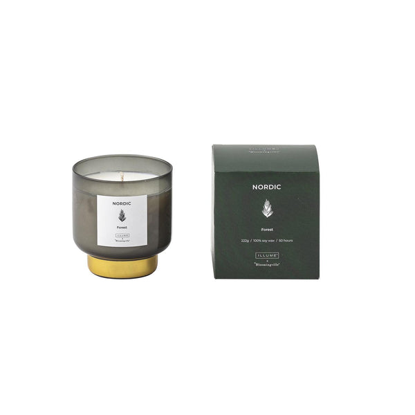 NORDIC FOREST SCENTED CANDLE SOY WAX