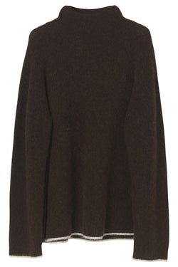 ELLISON SWEATER WARM BROWN