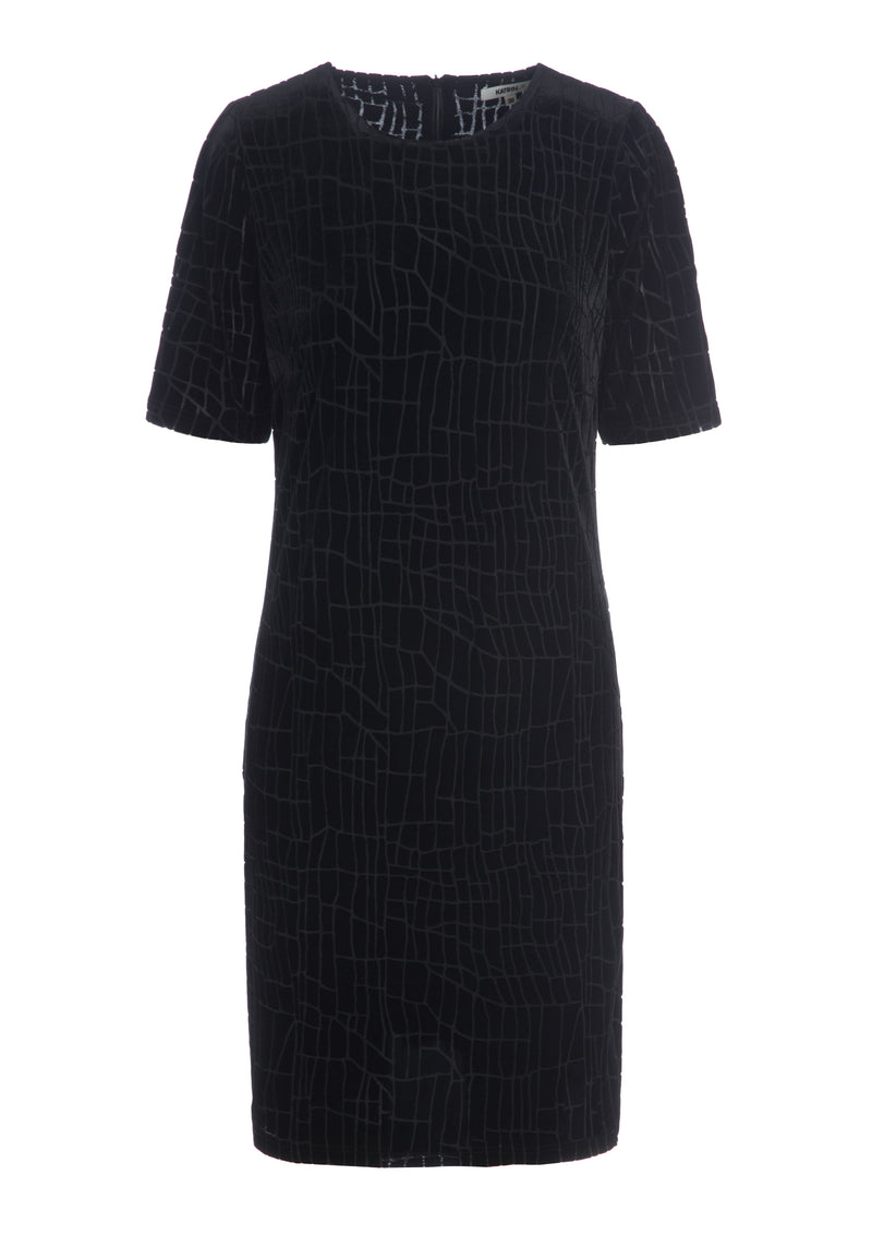 CITY FITTED DRESS 97 BLACK