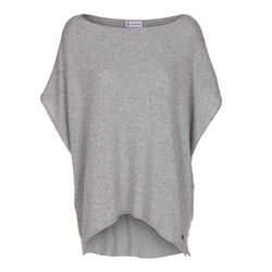 COLETTE PONCHO LIGHT GREY