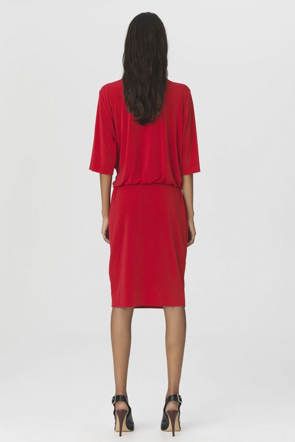 QIZI DRESS RED