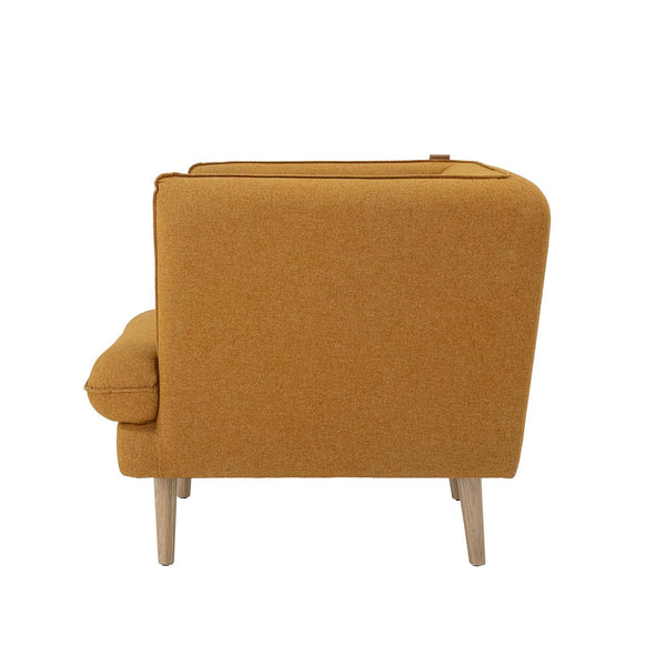 ELLIOT LOUNGE CHAIR, ORANGE