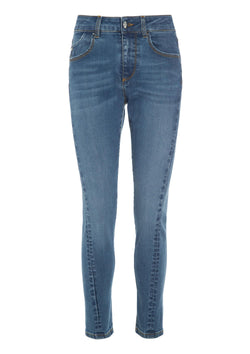 NEW YORK BOYFRIEND LIGHT DENIM BLUE
