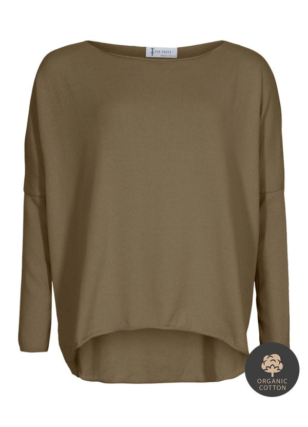 ORGANIC AMELIA BLOUSE CAPERS