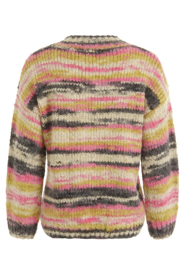 KNIT IN MULTI COLOR W VOLUME